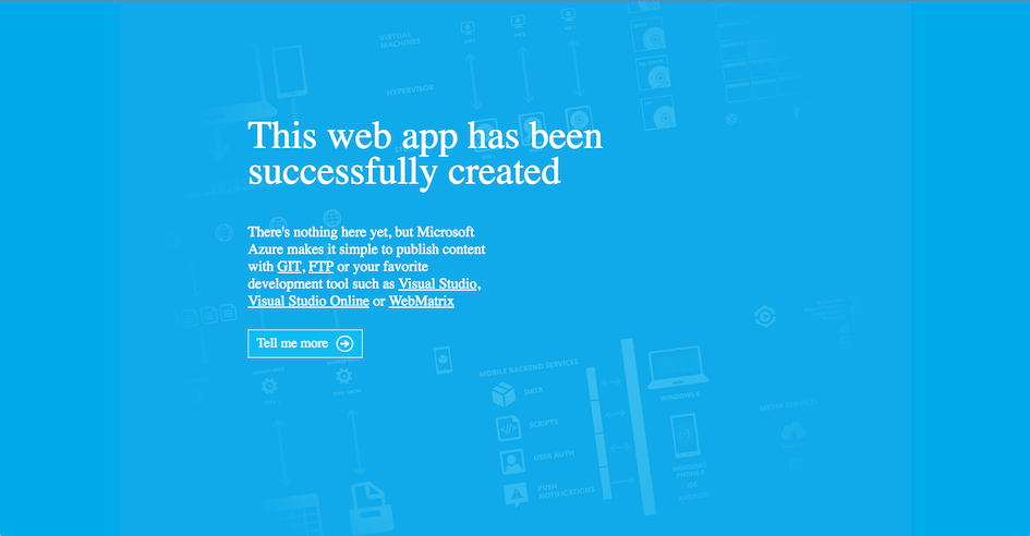 Deploying to Microsoft Azure Website Cloud (Symfony 2 7 Docs)