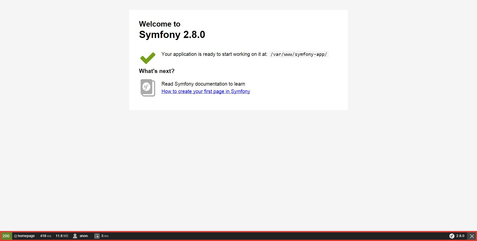 Databases and the Doctrine ORM (Symfony 3 1 Docs)