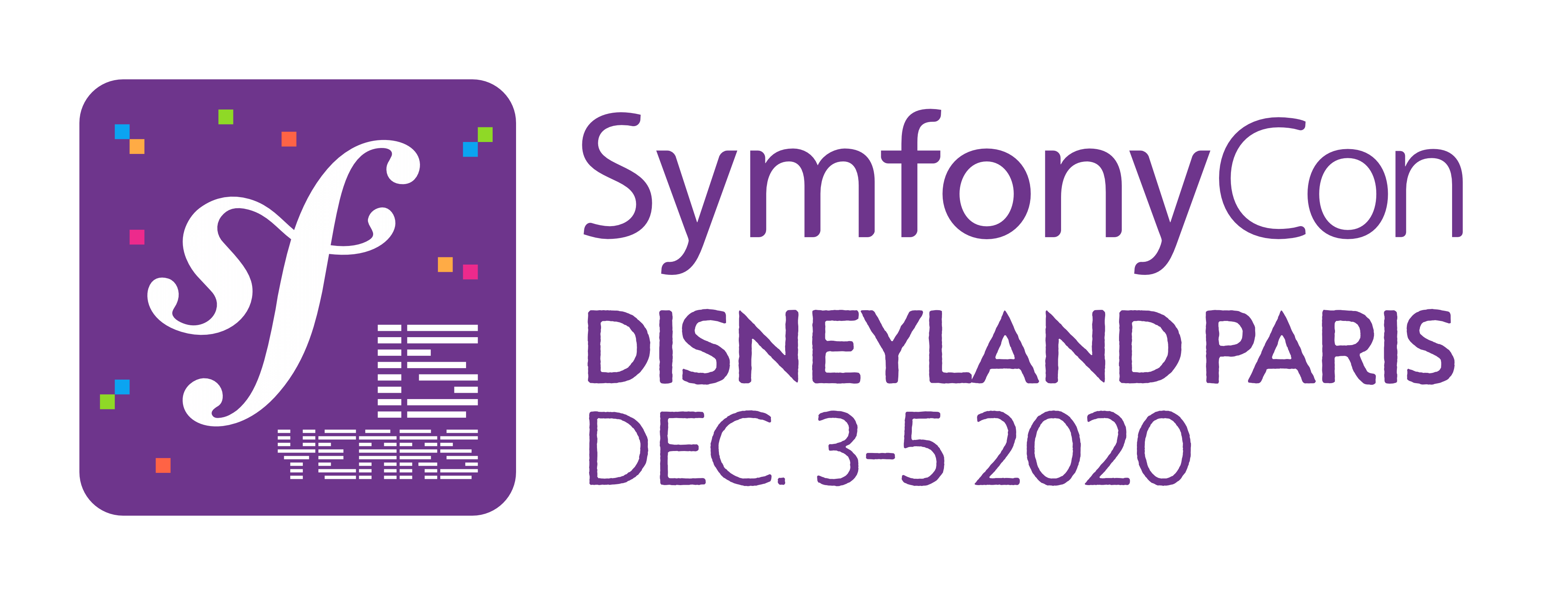 SymfonyCon Disneyland Paris 2020 Conference Logo