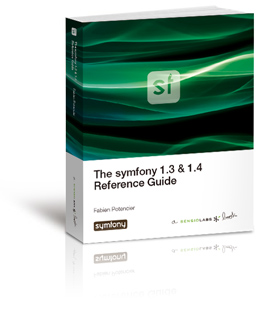 Cover of the The symfony Reference Book book