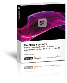 Cover of the Practical symfony book