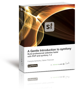Cover of the A gentle Introduction to symfony book