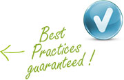 Best Practices guaranteed!