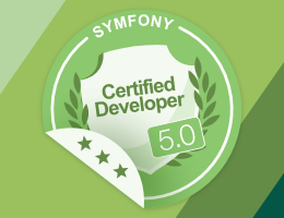 Online exam, become Symfony certified today
