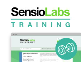 Be trained by SensioLabs experts (2 to 6 day sessions -- French or English).