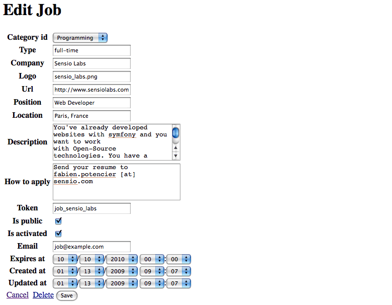 if you try to edit a job you will notice the category id drop down has a list of all the category names the value of each option is gotten from the - Php Mysql Jobs