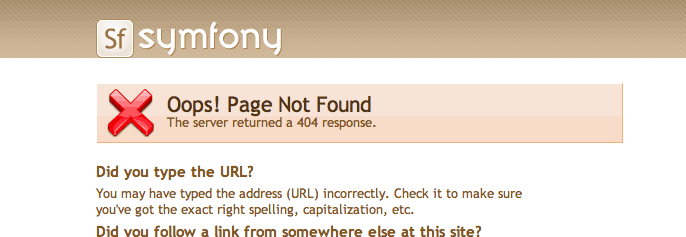 404 error in the prod environment