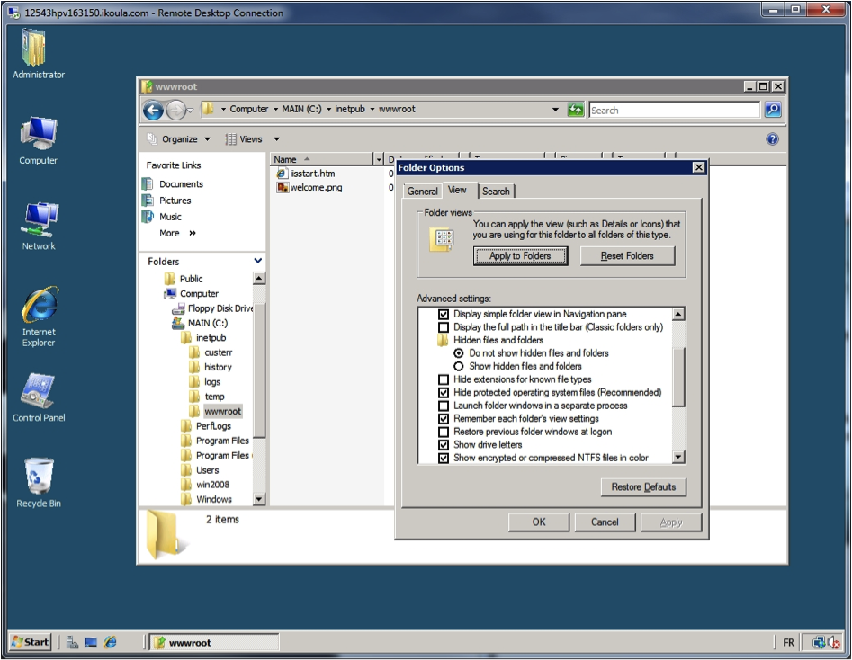 Windows Explorer - Unhide Extensions for Known Files Types.