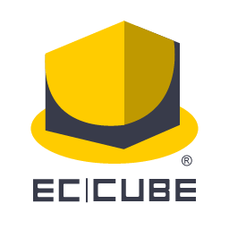 Logo of the EC-CUBE project, which uses the Security Symfony component