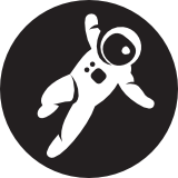 Logo of the Grav project, which uses some Symfony components