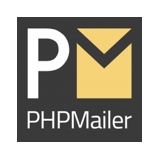 Logo of the PHPMailer project, which uses some Symfony components