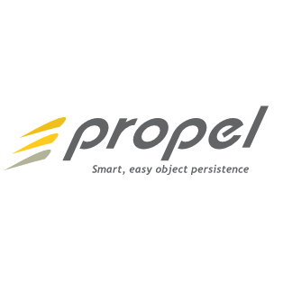 Logo of the Propel project, which uses the Filesystem Symfony component